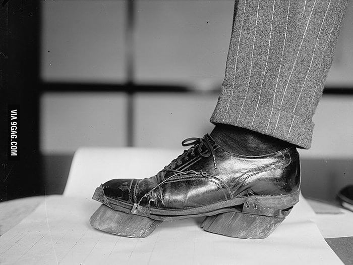 """In the past, """"cow shoes"""" were used to disguise footprints."""