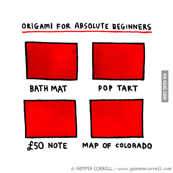 Origami For Absolute Beginners