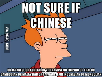 Every time I see an Asian