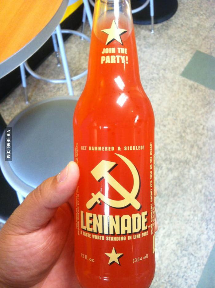 Tastes like Communism!