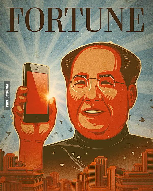 """Steve Maobs"" - Unused Fortune Magazine Cover"