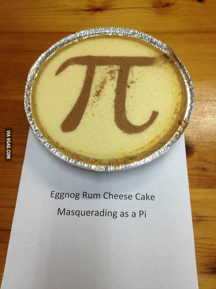 What to do when you submit a cheesecake in a pie contest.