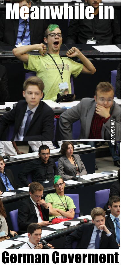 Meanwhile in the German Government