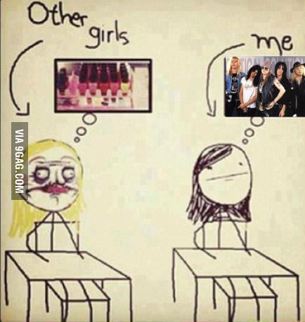 Other girls..and ME!!!