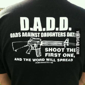 Beware of The Daddies Little Girls