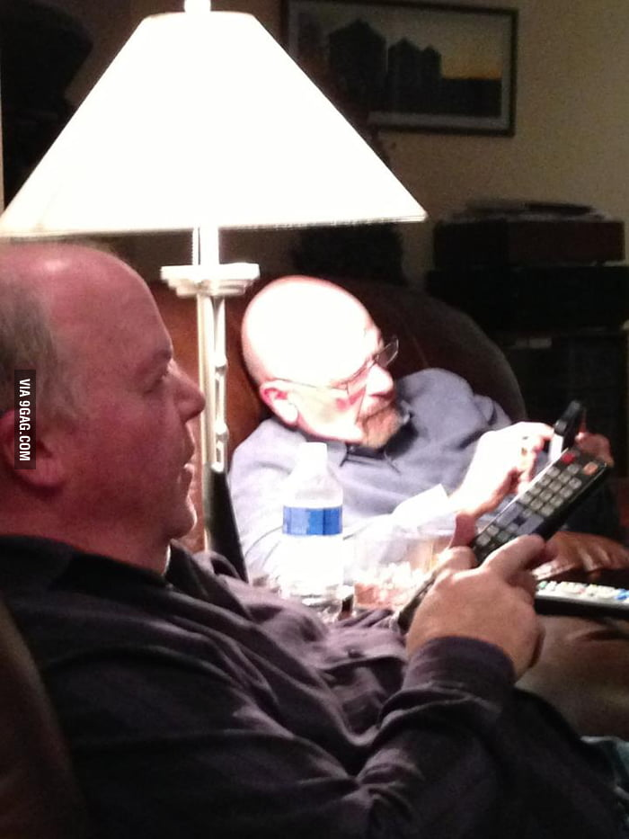 My friend's uncle looks exactly like Walter White.