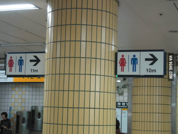 Very Accurate Toilet Signs!