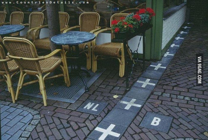 Borders Between Belgium and Nederlands