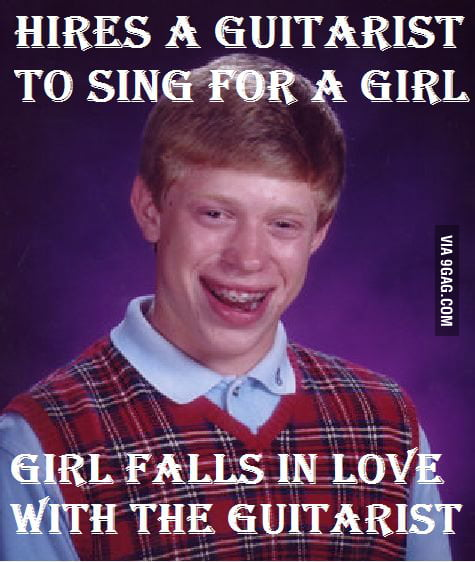 Bad luck brian courting a girl