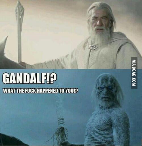 What happened to you, Gandalf?
