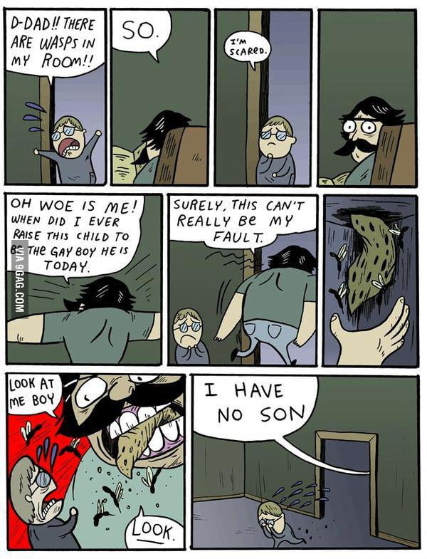 I bet no one knew that this is the original comic
