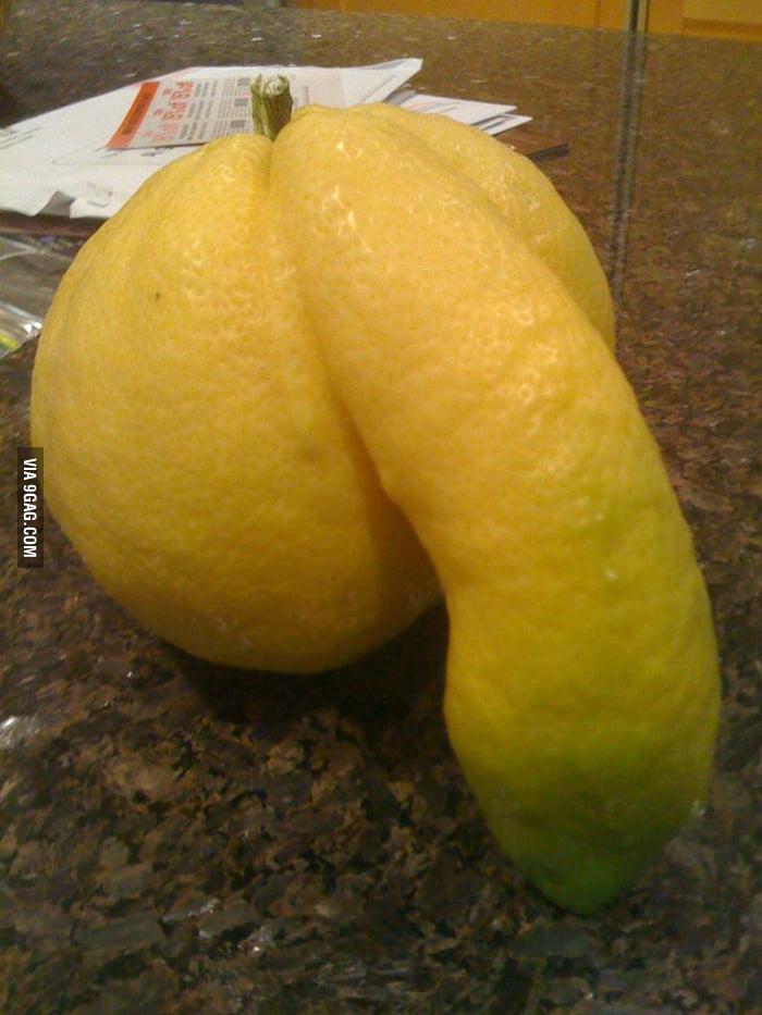 A big lemon.