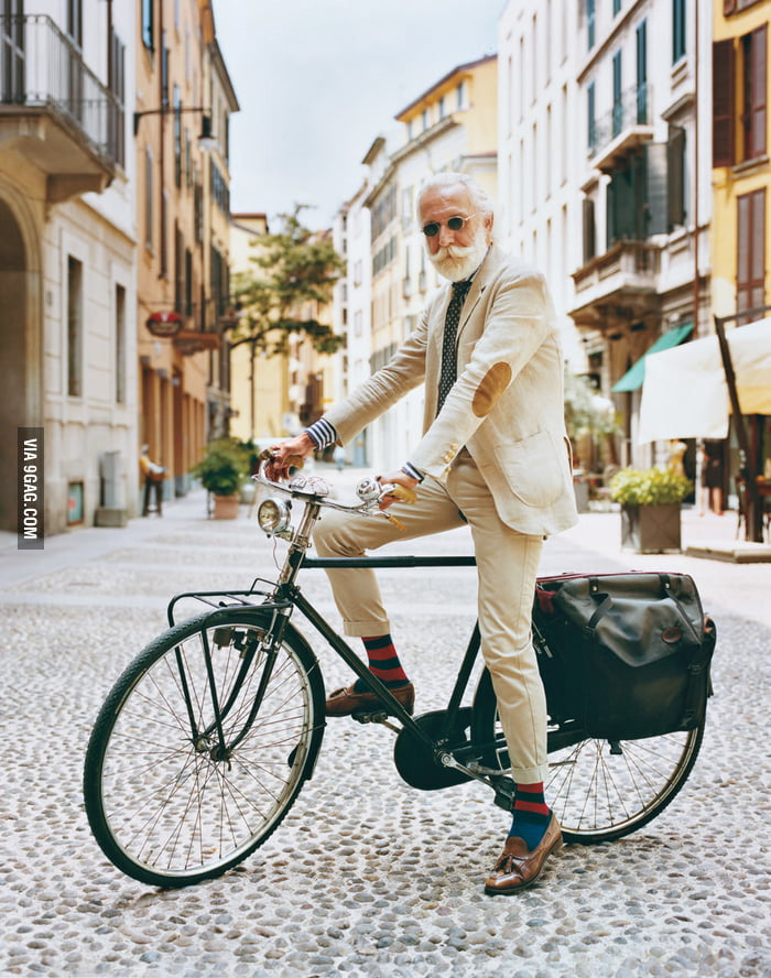 I hope I can be as awesome as this guy when I'm old.