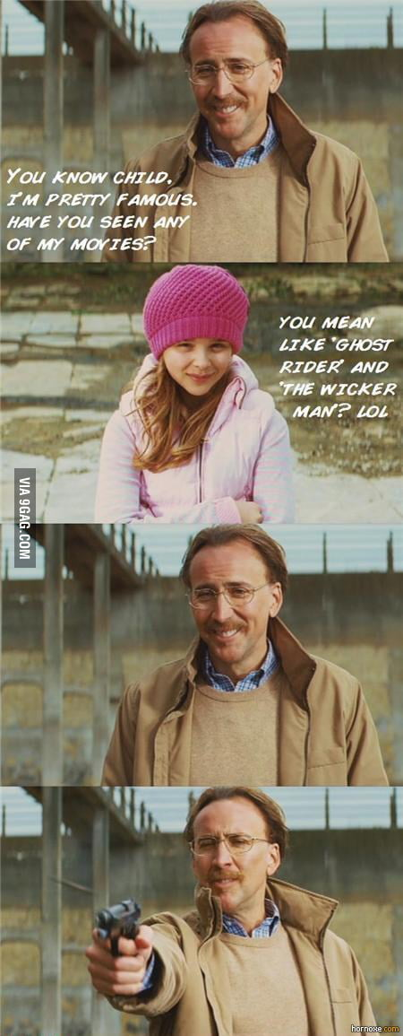 Nicolas Cage at his best