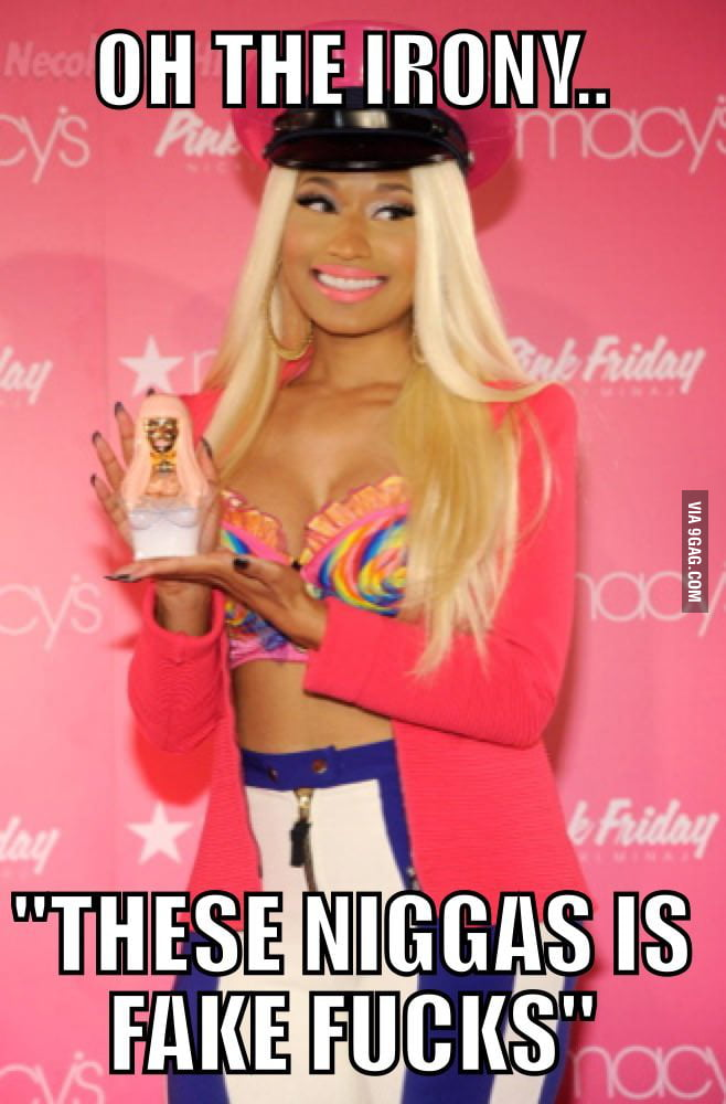 Real Nicki Minaj Lyrics 9gag
