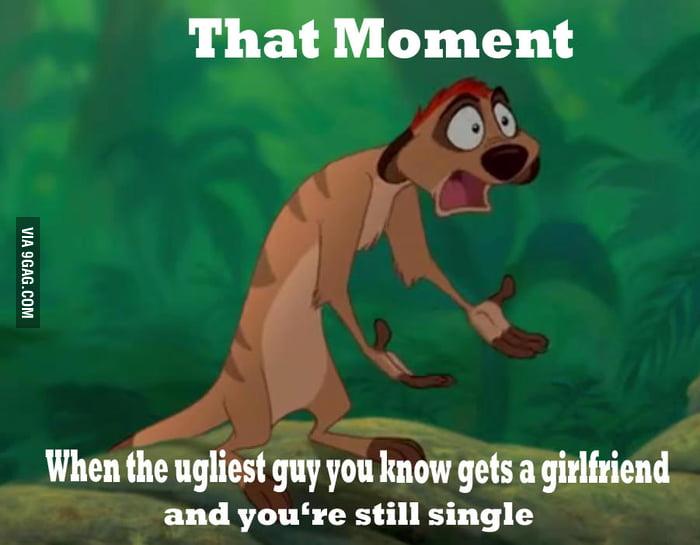 And I'm still single