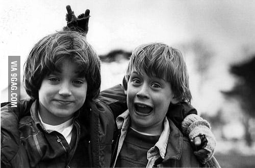 Elijah Wood and Macaulay Culkin on their childhood