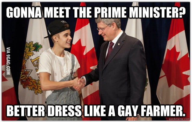 Gonna meet the prime minister?