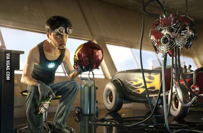 If Pixar had created Iron Man.