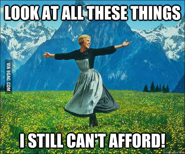 As a college student during sales seasons.