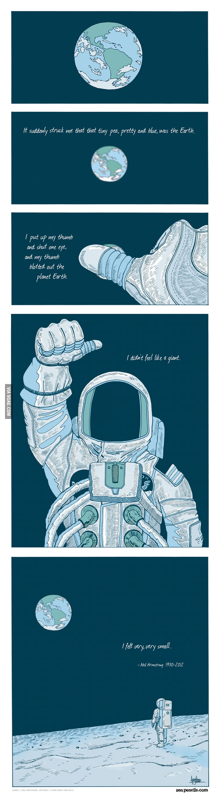 Neil Armstrong: A giant among men.