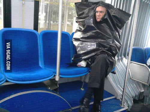 Do you ever feel like a plastic bag ?