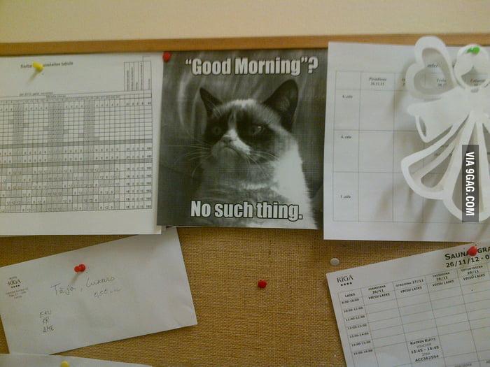 At work...