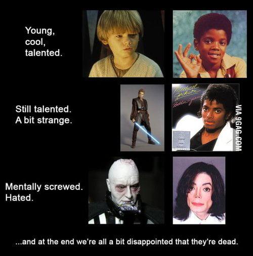 Darth Vader Vs Michael Jackson