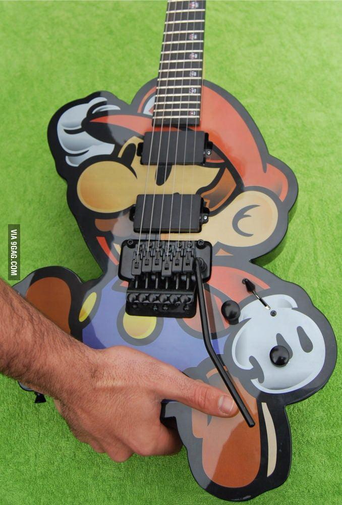 Awesome Mario Guitar!
