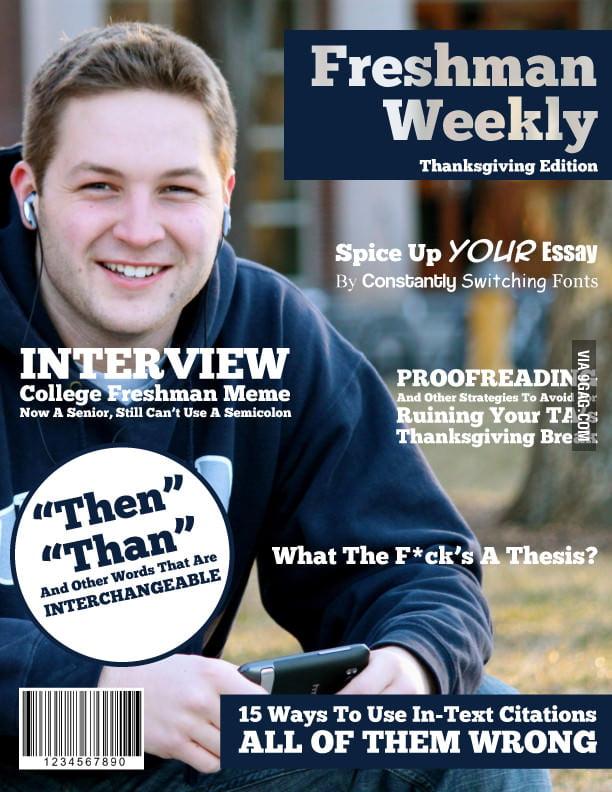 Freshman Weekly