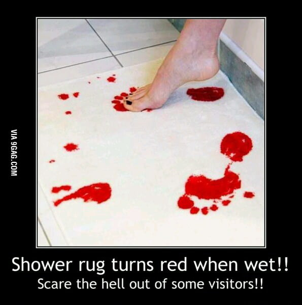 This scares your visitors!