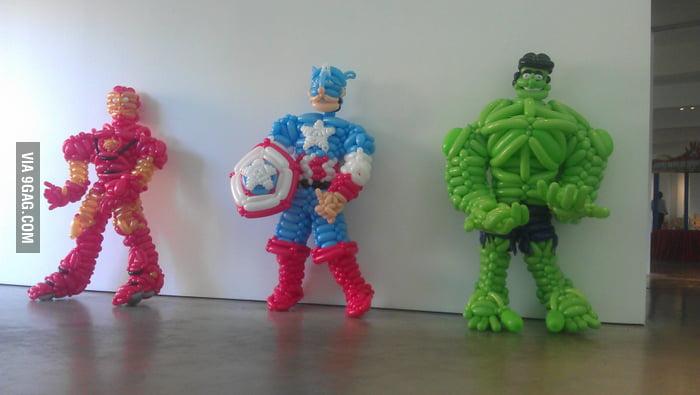 Balloon Avengers