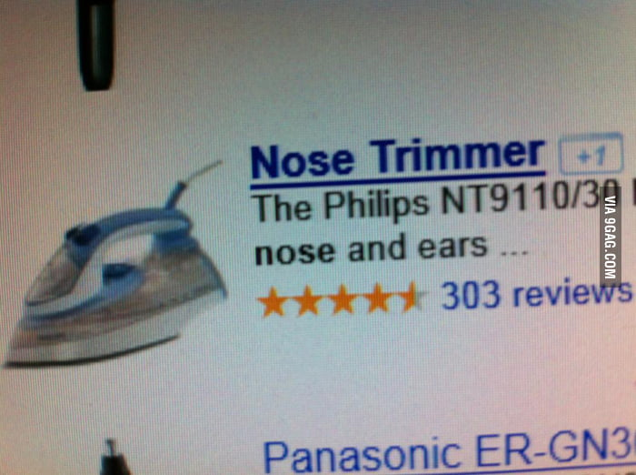 I was looking for a noise trimmer.