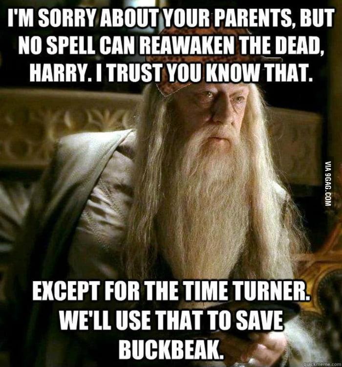 Douchebag Dumbledore!