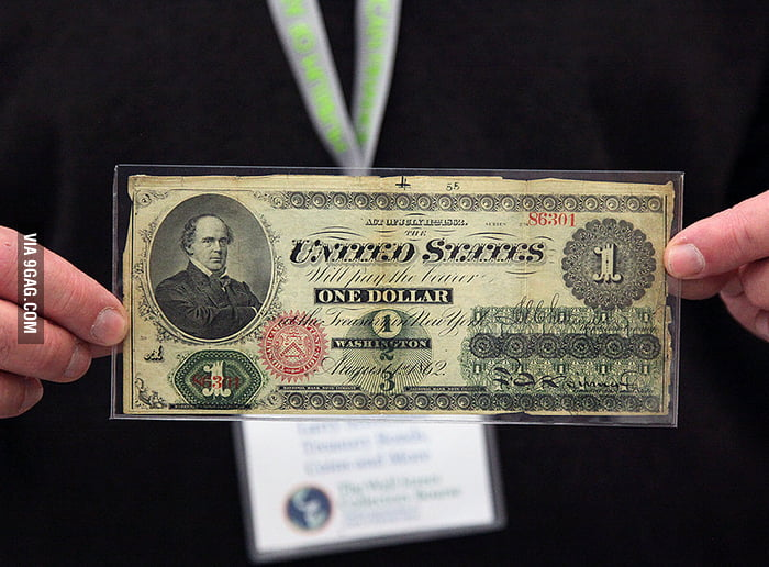 This is one Dollar from 1862.