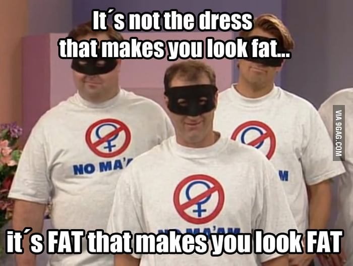 About Fat and Dress