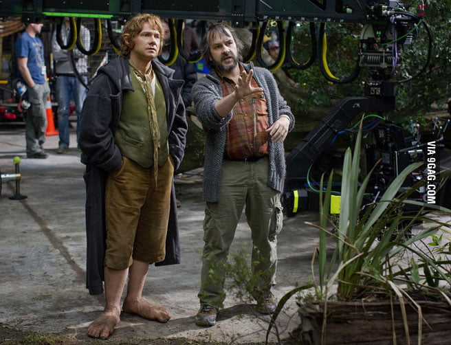 Big Bilbo, or small Peter Jackson?
