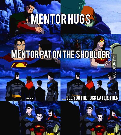 Batman being well...Batman.