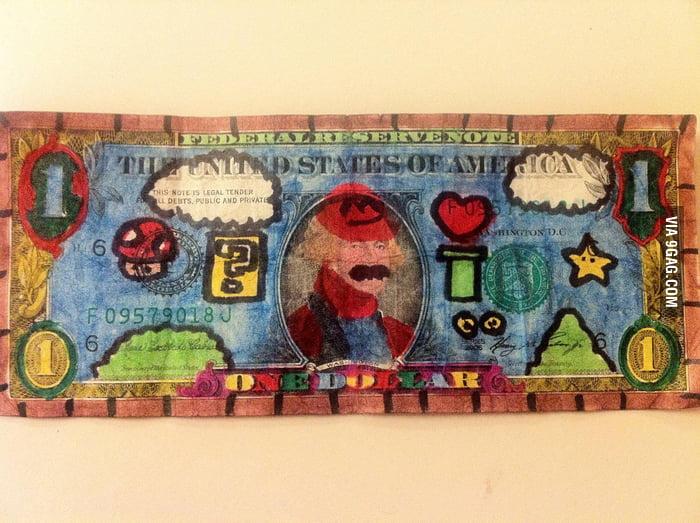 Mario Bros One Dollar