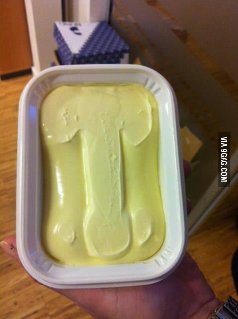 I opened my butter this morning, when suddenly