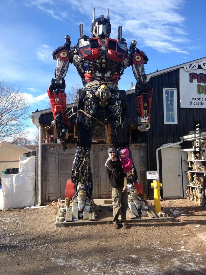 Found the Optimus Prime!