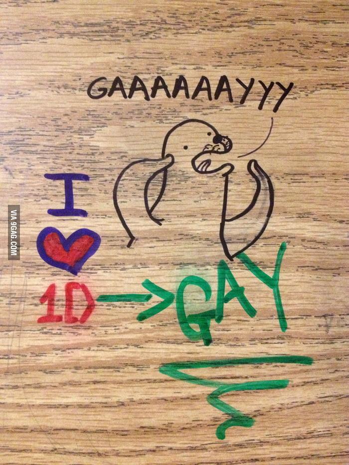 Gay seal strikes again...
