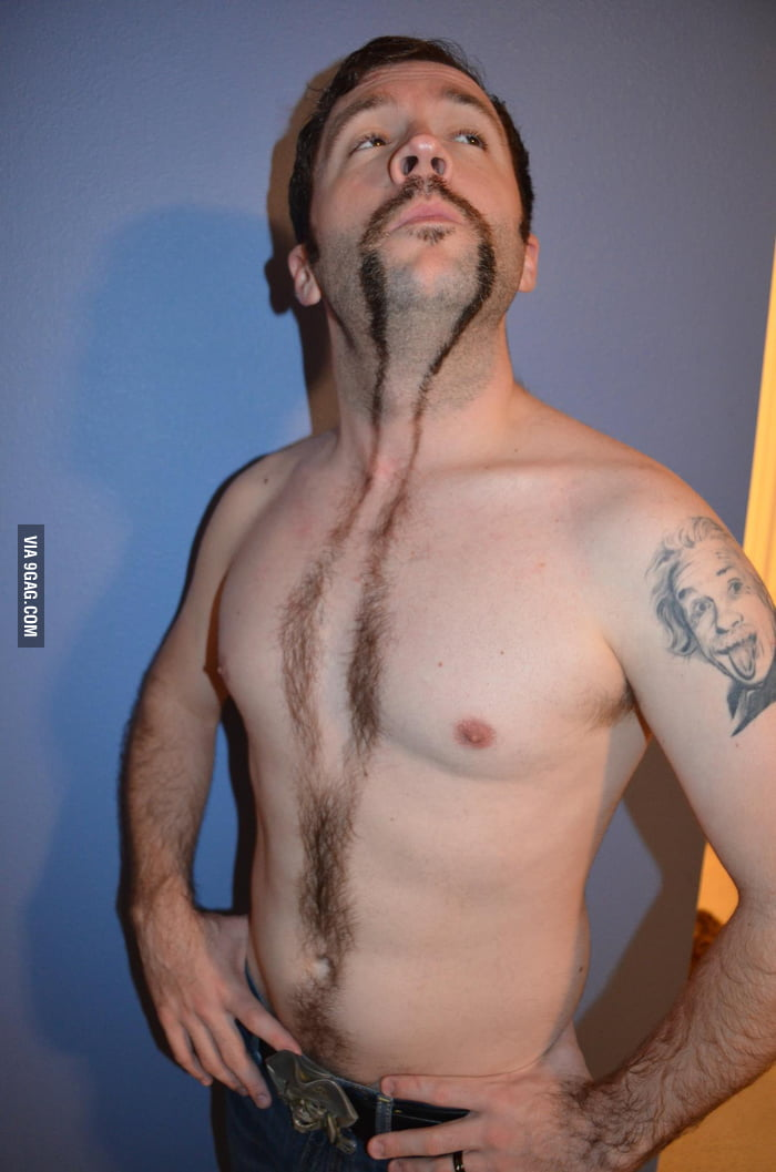 He may have taken Movember a bit too far.