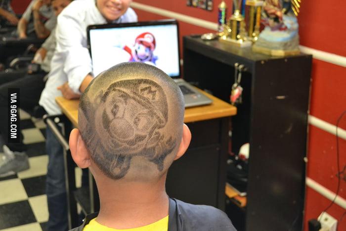 Awesome Mario Haircut!