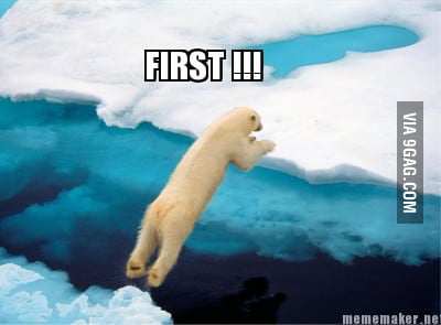 First jumping