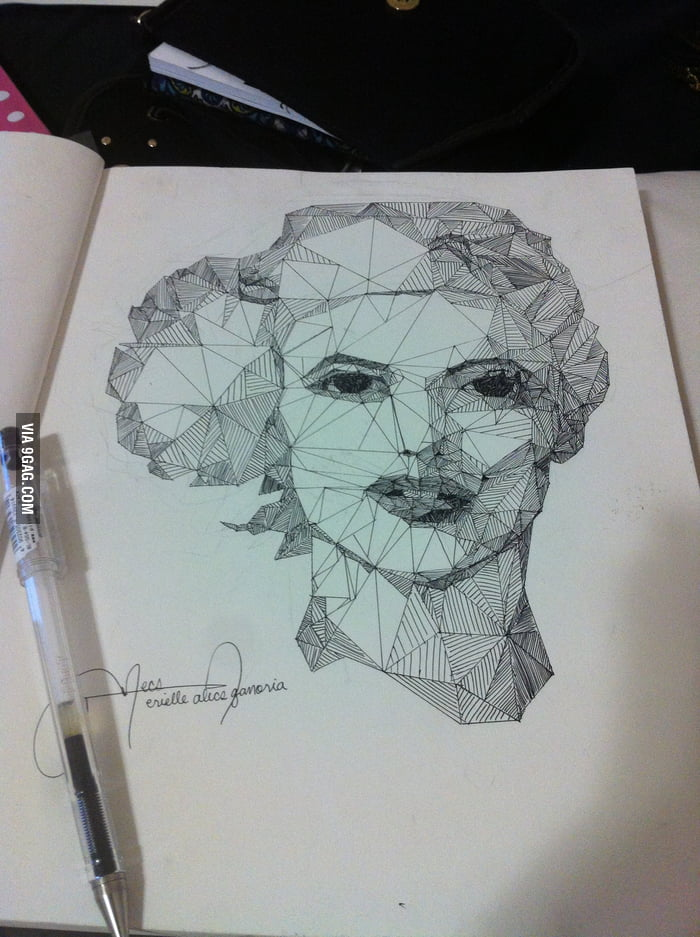 My art project: Draw only with straight lines
