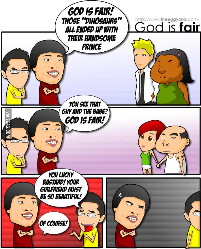 God is fair