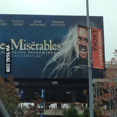 Perfect match! Les Misérables x Shining!