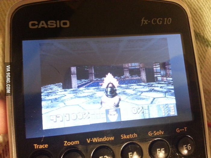 Calculator is powerful these days, you can even play Doom!