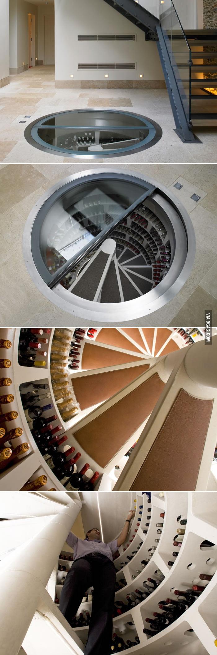 Spiral Wine Cellar